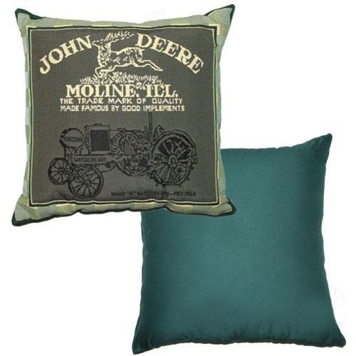 John Deere Tapestry - John Deere Tapestry Decorator Pillow