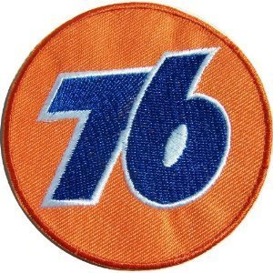 NASCAR Sponsor UNION 76 Gas & Oil Company Patch Patch Sew Iron on Logo Embroidered Badge Sign Emblem Costume BY Dreamhigh_skyland