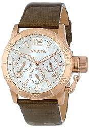 Invicta Women's INVICTA-14800 Corduba Analog Display Swiss Quartz Brown Watch