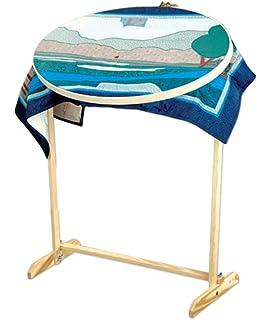 Amazon.com: Quilter'S Wonder Hoop & Floor Stand- : quilt hoop floor stand - Adamdwight.com