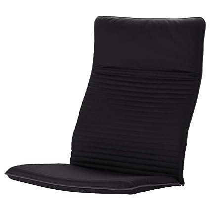 IKEA ASIA POANG Knisa - Cojín para sillón, color negro ...