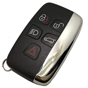 Replacement Smart Car Key Fob Cover Fit For Range Rover Key Fob Case Entry Keyless Remote Control Key
