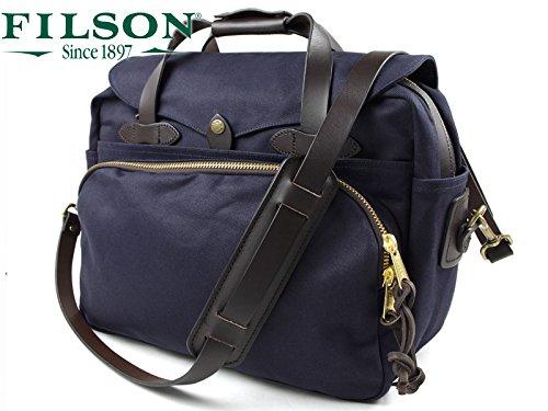 (フィルソン)FILSON パッデドコンピューターバッグ B01I98TLUE ネイビー ネイビー