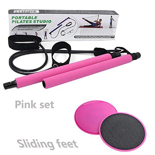 ZHLONG Pilates Fitness Bar Sports de Glisse Tapis de Yoga Pull Rod Fitness périphérique Poignée Poignée Multifonctions…