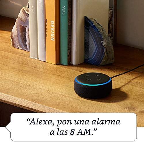 Echo Dot (3ra generación) - Bocina inteligente con Alexa, negro 5