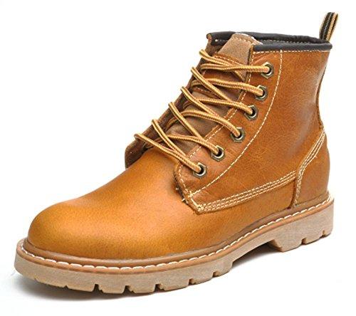 de casuales botas elevadores otoño de Martin botas Sra señora brown primavera yellow zapatos y 6zxqgnwTdz