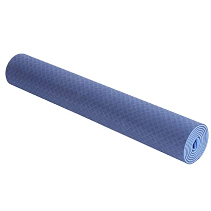 Amazon.com : Yoga Mat - Two-Color Widened TPE Yoga Mat 6MM ...