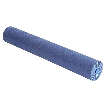 Amazon.com : Yoga Mat - Two-Color Widened TPE Yoga Mat 6MM ...