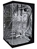 48x48x78 100% Reflective Mylar Hydroponic Indoor Garden Grow Tent Non Toxic Room