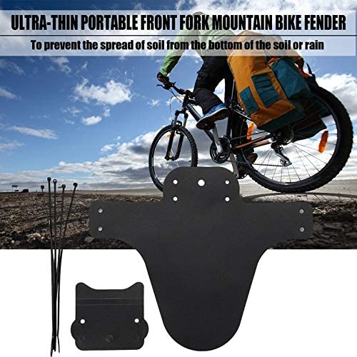 profectlen-US Portable Bicycle Mudguard Easy to Install MTB Fender Mud Guards Front Fenders