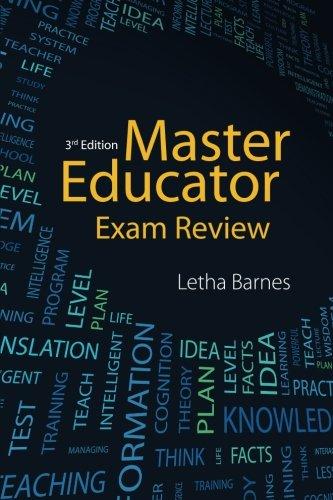 MASTER EDUCATOR EXAM REVIEW-3E