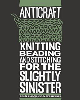Pretty in punk 25 punk rock and goth knitting projects alyce anticraft knitting beading and stitching for the slightly sinister fandeluxe Choice Image