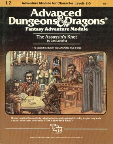 The Assassin's Knot (Advanced Dungeons & Dragons Module L2) (Dungeon And Dragons Modules compare prices)
