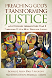 Preaching God's Transforming Justice: A Lectionary Commentary, Year B