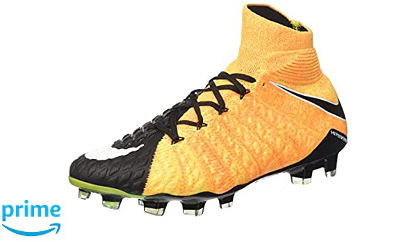 Nike Men s Hypervenom Phantom 3 DF FG (Laser Orange Black Volt White) (7) fe99b7d6a92e