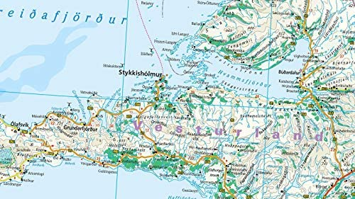 Islandia, mapa impermeable de carreteras. Escala 1:425.000. Reise Know-How.: Amazon.es: VV.AA.: Libros