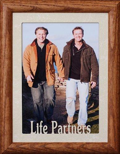 Amazon.com - 5x7 JUMBO ~ LIFE PARTNERS Portrait Picture Frame ...