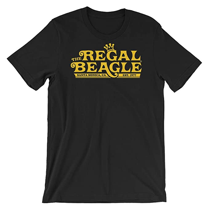f387db2ec The Regal Beagle Three's Company T-Shirt, The Regal Beagle Sitcom 70s T- Shirt Funny Dog Shirt, Gift for Christmas at Amazon Men's Clothing store:
