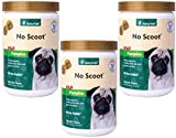 360-Count NaturVet No Scoot Plus Pumpkin Soft Chew (3 Jars with 120 Chews Each)