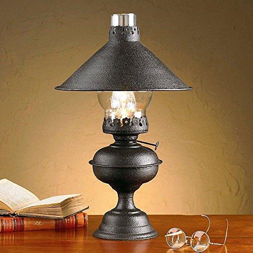 Black Hartford Lamp With Shade