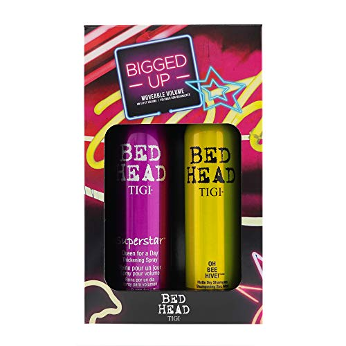 TIGI Bed Head Superstar Spray 10.2 oz & Oh Bee Hive, 5 oz