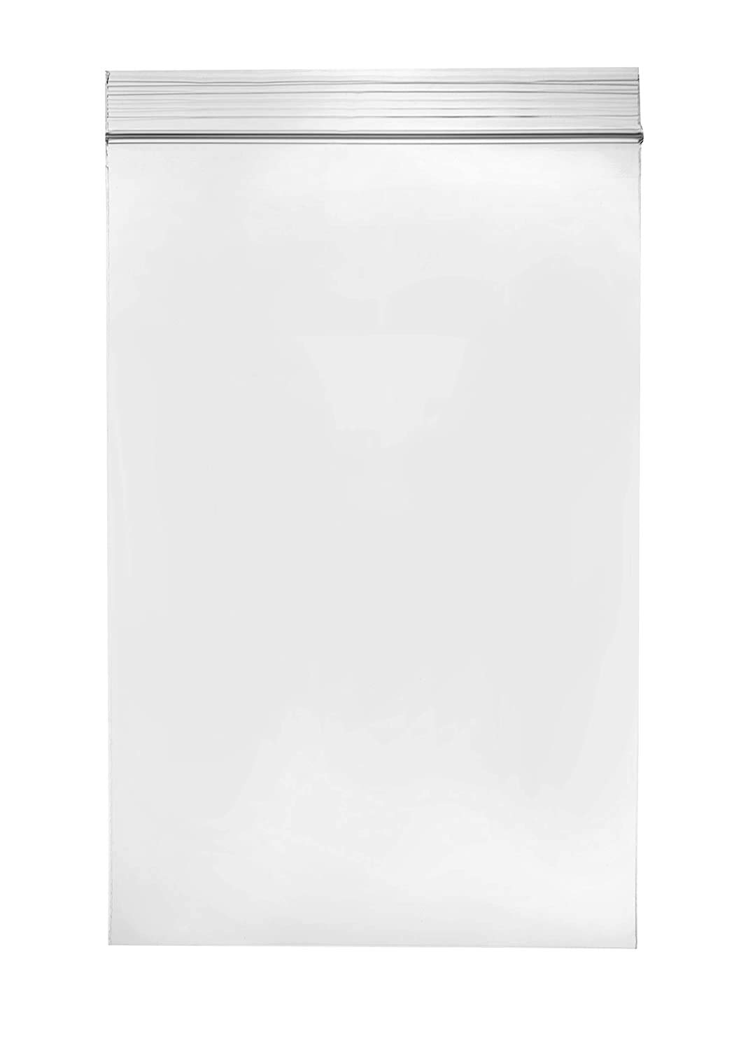 9 x 12 inches, 2Mil Clear Reclosable Zip Lock Bags, case of 1,000 GPI Brand