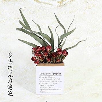 Nordic Wind Rose Blume Ins Schreibtisch Wohnzimmer Schlafzimmer Home  Decoration Natürliche Blume Kleine, Frische,