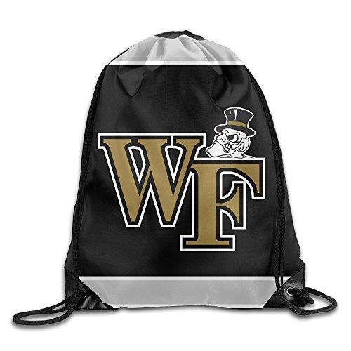 Acosoy Wake Forest University LOGO Drawstring Backpacks/Bags