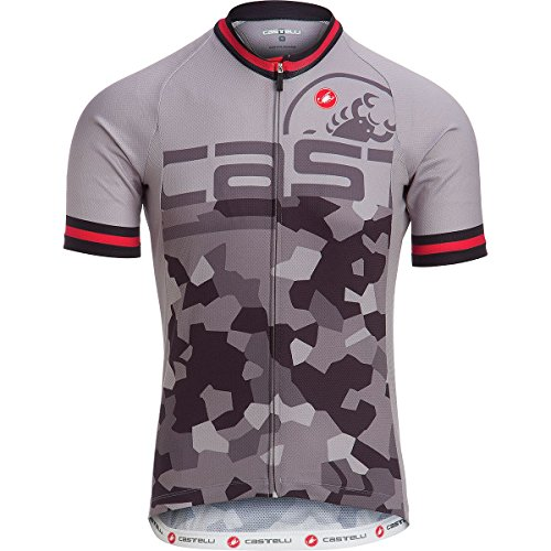 Castelli Attacco Limited Edition Jersey - Men's Luna Grey, ()