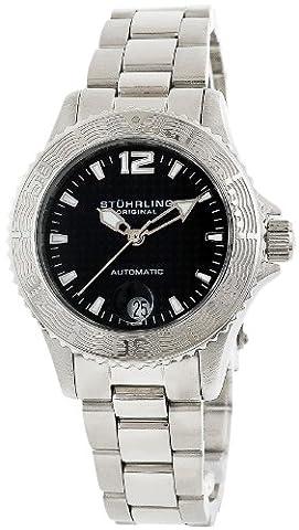 Stuhrling Original Women's 162.11111 Lifestyle 'Regatta' Automatic Divers Watch - Chronograph Synthetic Sapphire