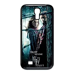 Deathly Hallows Samsung Galaxy S4 90 Cell Phone Case Black Customized Toy pxf005_9666392