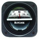 Ritchie V-537W Explorer Compass - Bulkhead Mount - White Dial