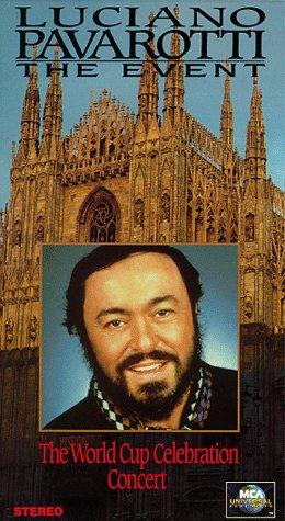 Luciani Pavaroti: The Event [VHS]