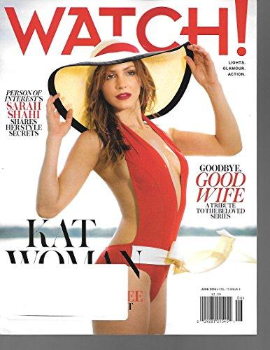 Watch Magazine, June 2016-Goodbye Good Wife & Emily Wickersham of NCIS (Wickersham Ncis)