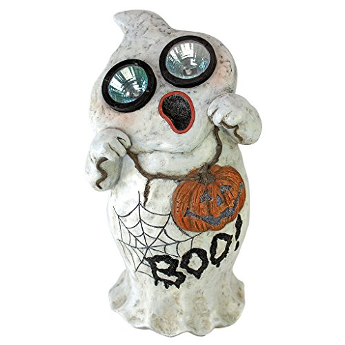 Design Toscano Ghostly Visions Solar Garden Statue - Ghost Statue - Halloween Prop]()