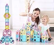 dreambuilderToy Magnetic Tile Building Block, 106 Pieces Set