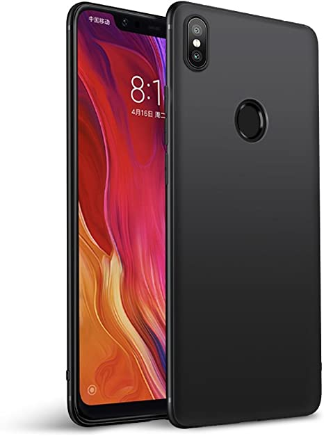 Olliwon Funda para Xiaomi Mi 8, Ultra Slim Silicona TPU Carcasa ...