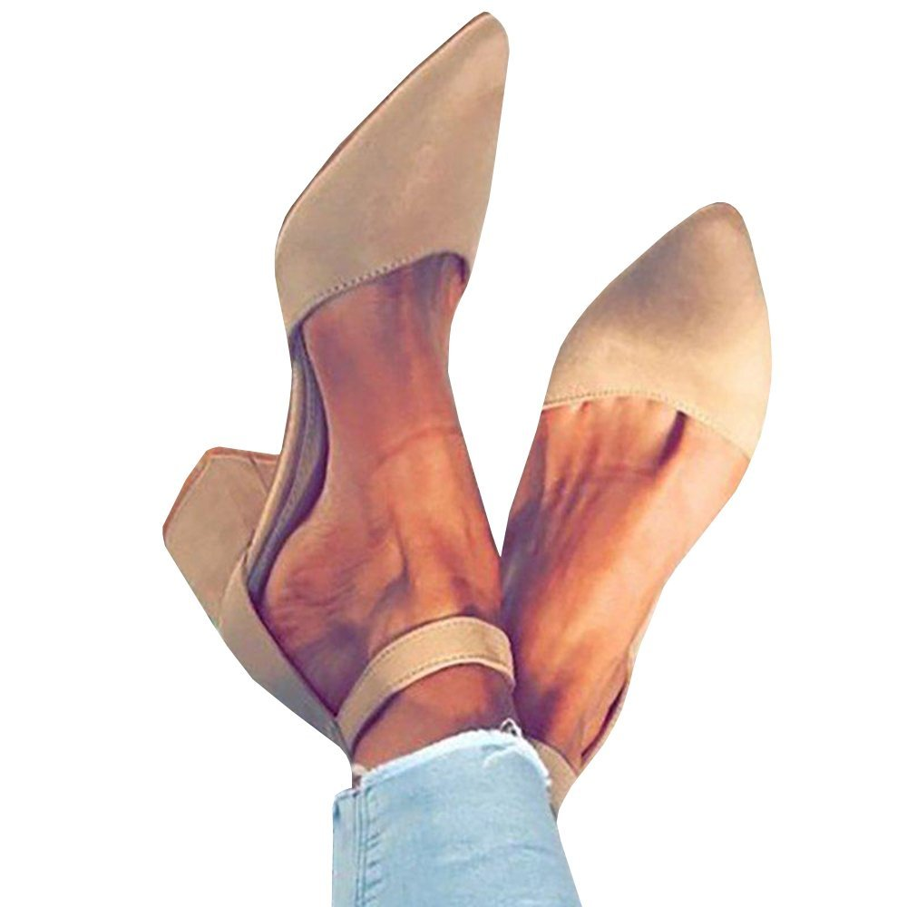 2-nude Womens Peep Toe Cutout Sandals Side Zipper Chunky Low Heel Booties Ankle Heels