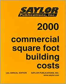 Commercial Square Foot Building Costs 2000 Stanley J
