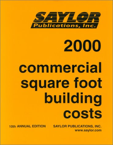 Commercial Square Foot Building Costs 2000