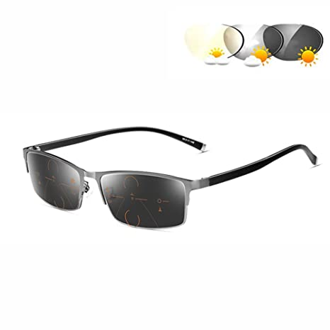 Gafas de sol fotocromáticas para hombres: gafas de lectura ...