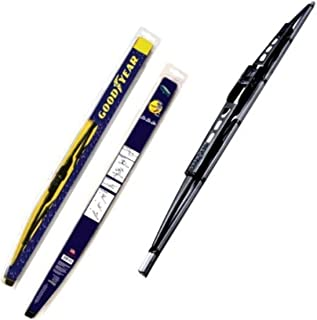 "product image for Goodyear GY-WB728-12 Black Premium Rubber Graphite Coated Wiper Blade, 12"" (Pack of 1)"