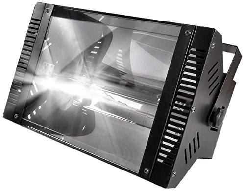 Lytor Strobe 1000 Stroboskop, Lampe 1000W, mit 2Lampen, schwarz