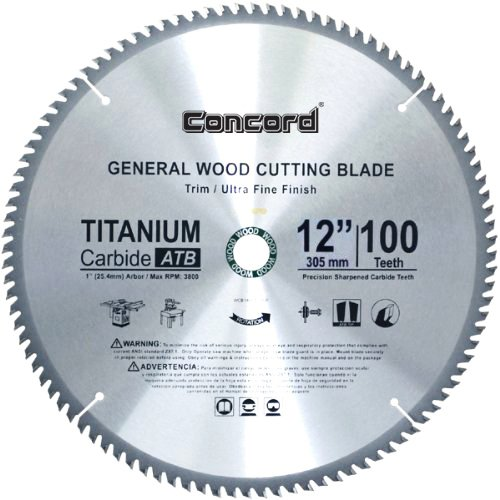 Concord blades wcb1000t060hp 10 inch 60 teeth tct general purpose concord blades wcb1000t060hp 10 inch 60 teeth tct general purpose hard soft wood saw blade amazon greentooth Gallery