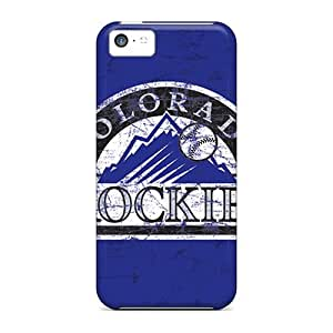 Great Hard Phone Covers For iphone 6 plus (jsh2003KmLT) Support Personal Customs Colorful Colorado Rockies Skin