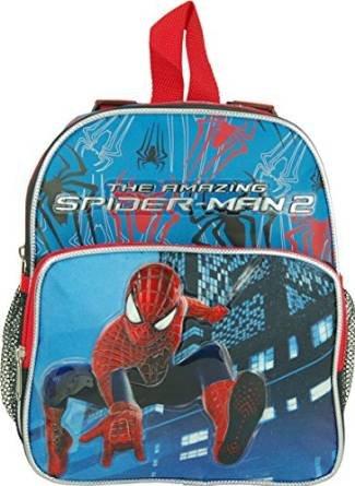 "Marvel the Amazing Spiderman Toddler Mini 10"" Backpack"