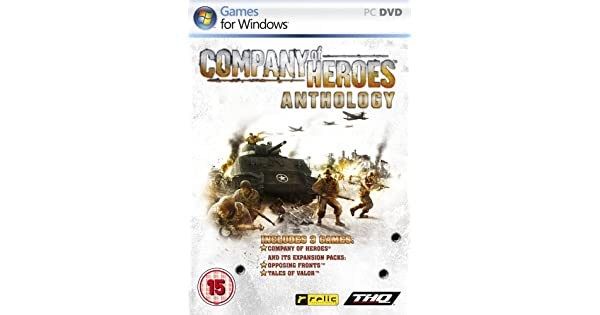 Amazon Com Company Of Heroes Anthology Video Games