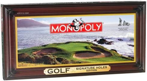 B0008FUBSI Golf Signature Holes Edition of Monopoly 514CHGG1GQL.