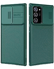 جراب Nillkin Galaxy Note 20 Ultra - جراب Upgrate CamShield مع غطاء كاميرا منزلق ، جراب واقٍ رفيع لهاتف Samsung Galaxy Note 20 Ultra 6.9 inch 2020 ، Midnight Green