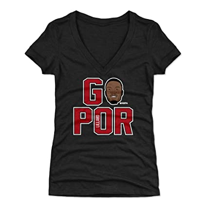 Amazon.com   500 LEVEL Damian Lillard Women s Shirt - Portland ... bbadbef33